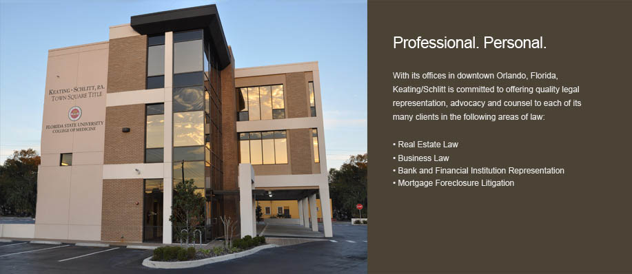 Keating Schlitt law office in Orlando Florida
